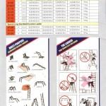 Model & Spec Tangga lipat aluminium Apache Multifungsi