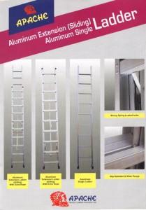 Tangga Aluminium Sliding Single Ladder