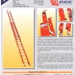 apache xserial fiberglass Slidding Ladder